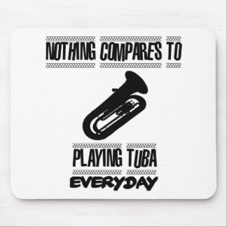 Trending Tuba player designs Mouse Pad