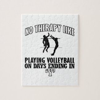 TRENDING Volleyball DESIGNS Jigsaw Puzzle