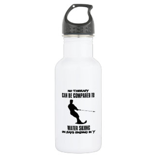 Trending Water skiing designs 532 Ml Water Bottle