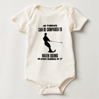 Trending Water skiing designs Baby Bodysuit