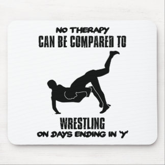 Trending Wrestling designs Mouse Pad