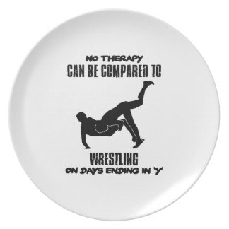 Trending Wrestling designs Plate