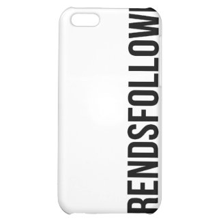#TrendsFollowMe Twitter Trends iPhone Case Cover For iPhone 5C