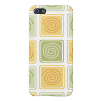 Trendy Abstract - Lime & Lemon iPhone 5 Cover