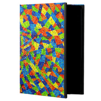 Trendy Abstract Orange And Green Daimond Pattern Powis iPad Air 2 Case