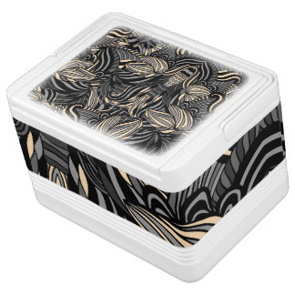 Trendy abstract tribal pattern. cooler