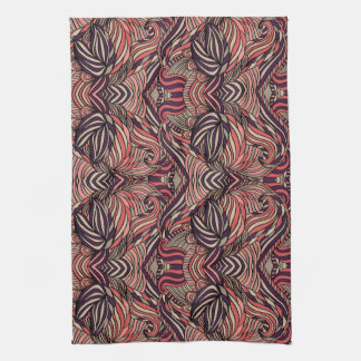 Trendy abstract tribal pattern. towel