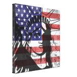 Trendy American Flag Statue Of Liberty Wall Art