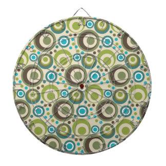 Trendy and Modern Circle Pattern Dartboard