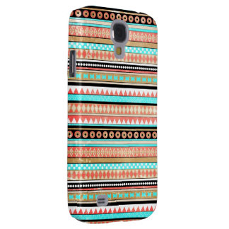 Trendy aztec galaxy s4 cover