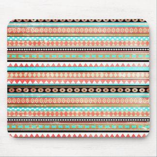 Trendy aztec mouse pads
