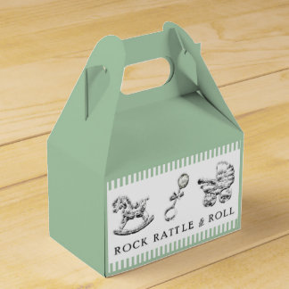 Trendy Baby Shower Favour Box