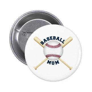 Trendy baseball mom pin