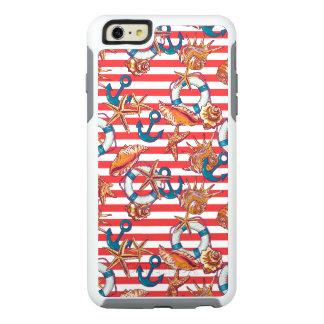 Trendy Beach Pattern OtterBox iPhone 6/6s Plus Case