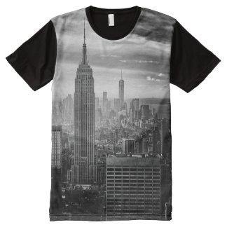 Trendy Black and white New York Shirt All-Over Print T-Shirt