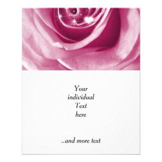 trendy bling on rose,pink (I) 11.5 Cm X 14 Cm Flyer