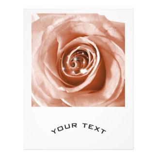 trendy bling on rose,soft peach (I) 21.5 Cm X 28 Cm Flyer