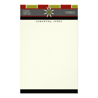 Trendy Bliss Apples Galore Customized Stationery