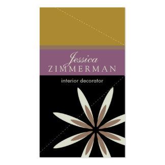 Trendy Bliss Lovely Lavender Business Card