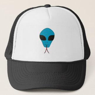 TRENDY BLUE ALIEN BALL CAP
