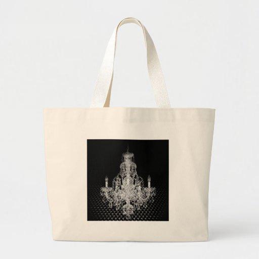 Trendy Boutique Chandelier Designs Canvas Bag