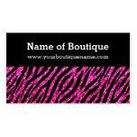 Trendy Boutique Hot Pink and Black Zebra Glitter
