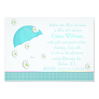 Trendy Bridal Shower Invitation