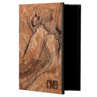 Trendy Brown Wooden Pattern iPad Air Cover