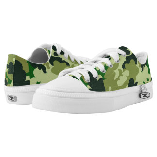Trendy camo printed shoes