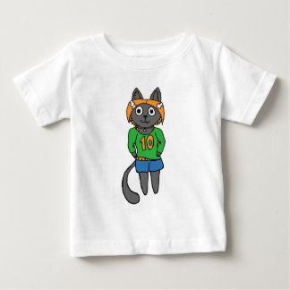 Trendy Cat Cute Cartoon Baby T-Shirt