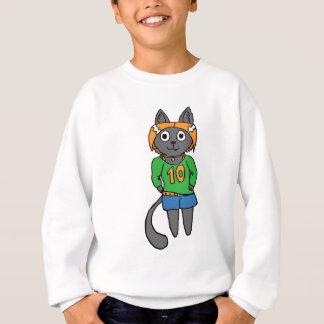 Trendy Cat Cute Cartoon Sweatshirt