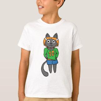 Trendy Cat Cute Cartoon T-Shirt