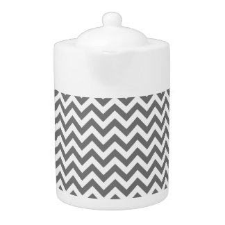 Trendy Chevron Teapot