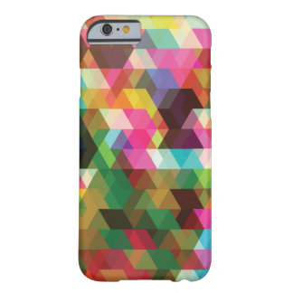 Trendy Colorful Polygon Shapes iPhone 6/6s Case
