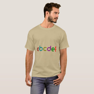 Trendy Cool Lettered T-Shirt