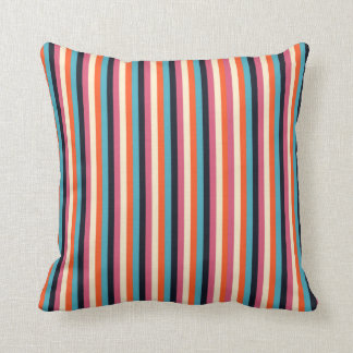 trendy cool stripes elegant design cushion