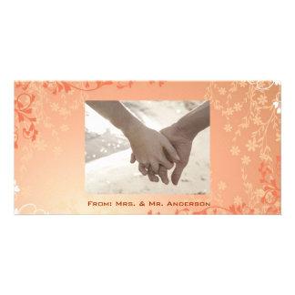 Trendy Customizable Photo Wedding Card Personalised Photo Card
