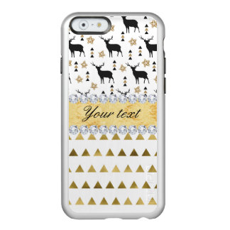 Trendy Deer Triangles Pattern and Diamonds Incipio Feather® Shine iPhone 6 Case