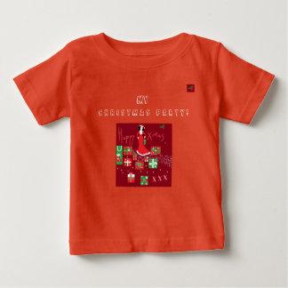 Trendy Designer Christmas T/Shirt Baby T-Shirt