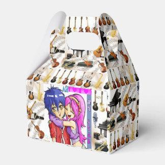 Trendy Designer Musical Keep Safe Carton Favour Box