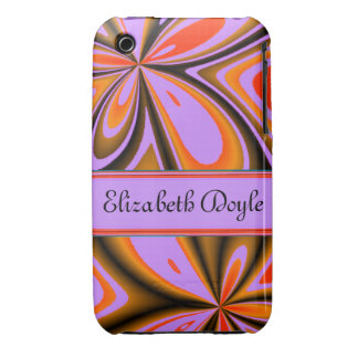 Trendy Designer Unique Pattern Floral Case iPhone 3 Covers