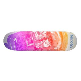 Trendy Expired Painted Parking Meter Skateboard
