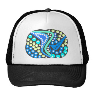 Trendy fashion Abstract. on multiple products Cap
