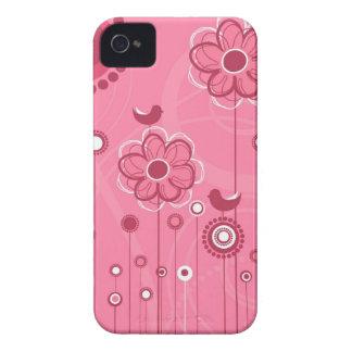 Trendy Floral Decor Blackberry Case