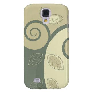 Trendy Floral Decor  Galaxy S4 Case