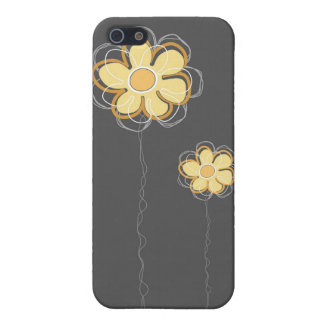 Trendy Floral Decor iPhone 4 Case