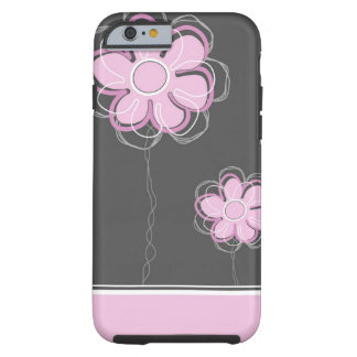 Trendy Floral Decor iPhone 6 Tough iPhone 6 Case