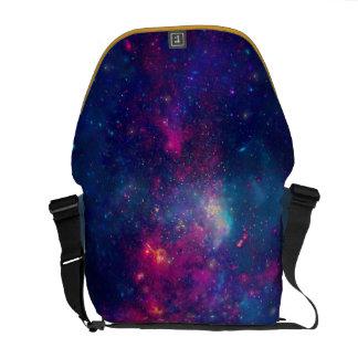 Trendy Galaxy Print / Nebula Courier Bags