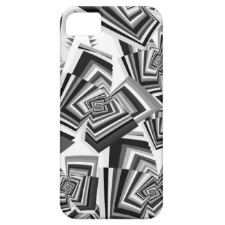 Trendy geometric Pattern in B&W Barely There iPhone 5 Case