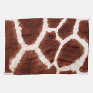 Trendy Giraffe Pattern Towels